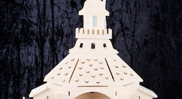 Kerk uit Seiffen, klein