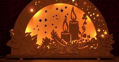Boog met kaarsen 2